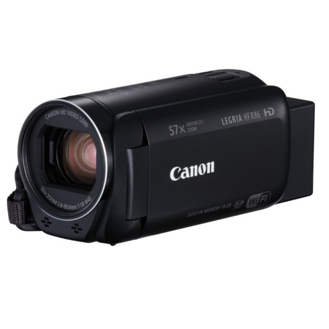 Canon Legria HFR86 Full HD CMOS Twin Memory Camcorder