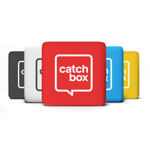 Catchbox Plus Throwable Microphone Bundles (Inc Wireless Charger & Presenter Mic)