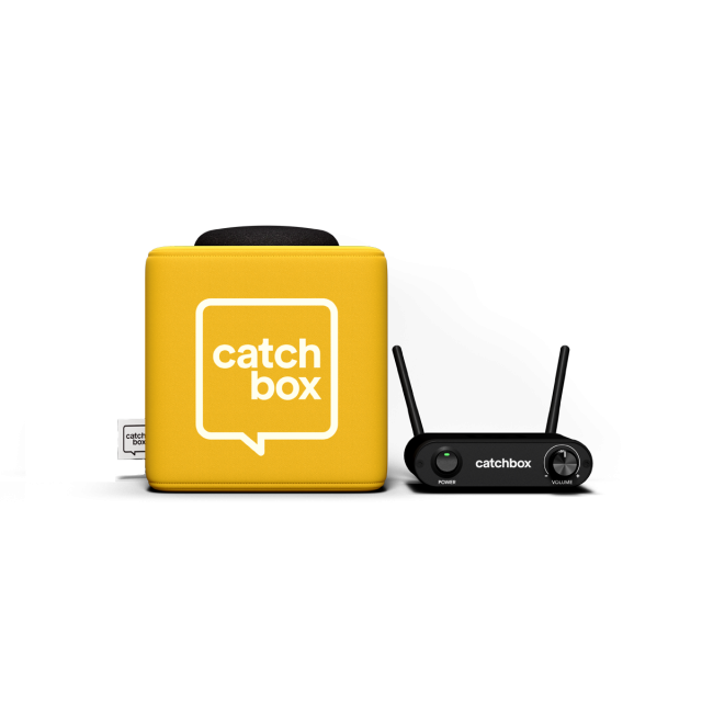 Catchbox Lite Throwable Microphone System