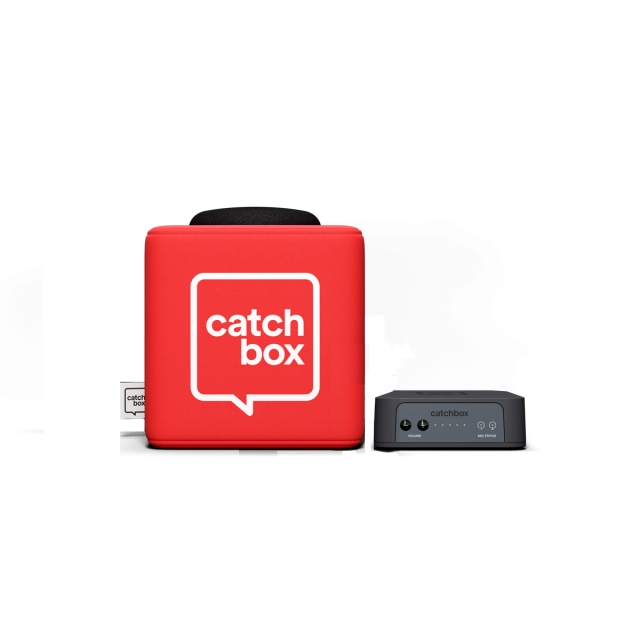 Catchbox Plus Throwable Microphone System