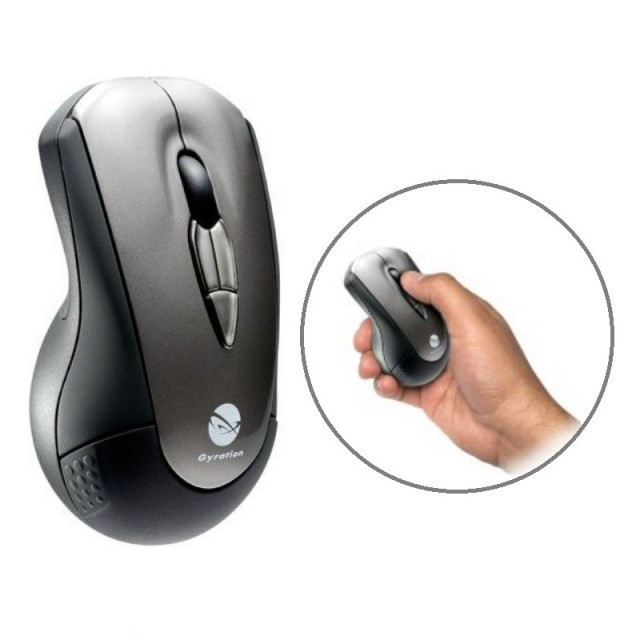 Gyration Air Mouse | Includes USB Receiver and Protective Pouch