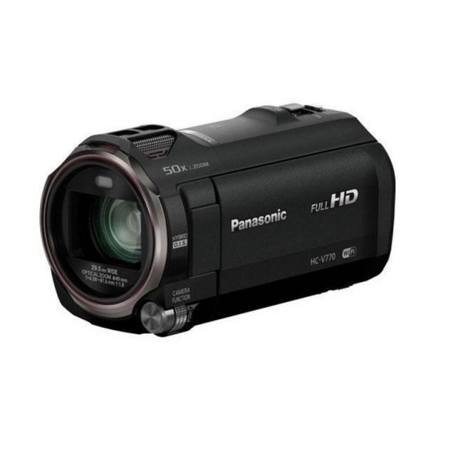 Panasonic HC-V770 FULL HD 1MOS Camcorder with MIC INPUT