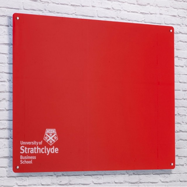 Roche Quality Customisable Magnetic Glassboards