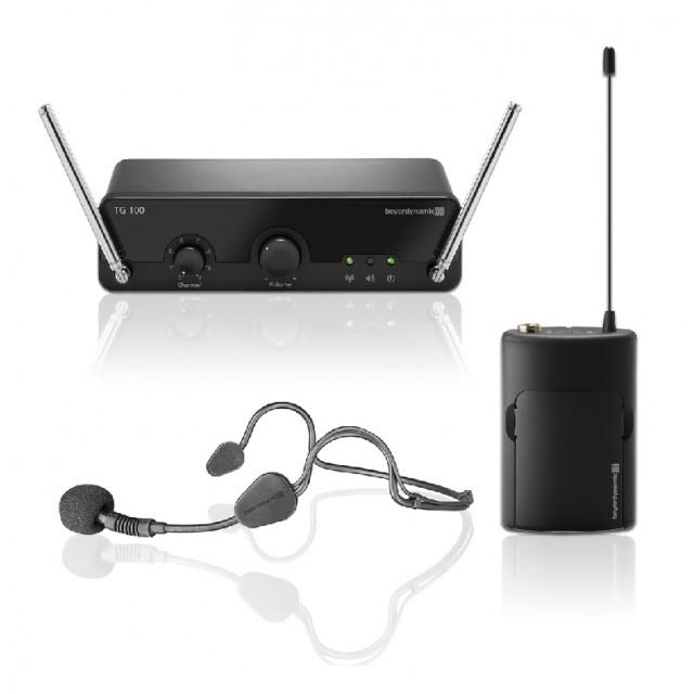 Beyerdynamic TG 100 B-Set Wireless Microphone System (Beltpack)